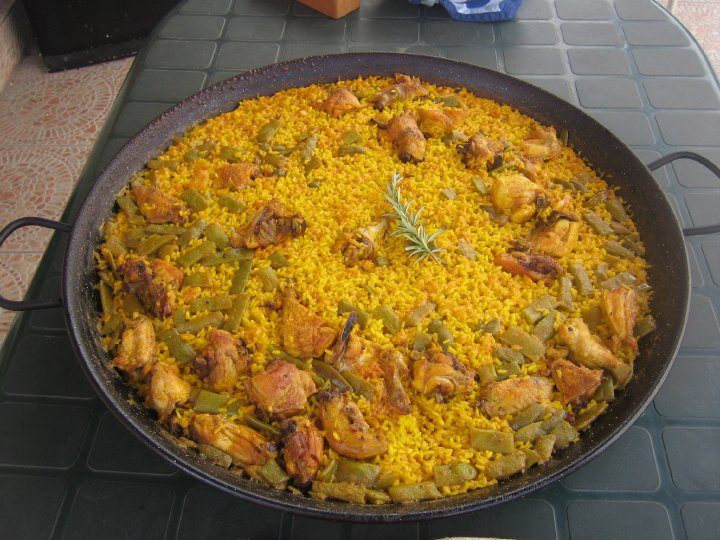 zucchini summer paella chicken paella flickr photo sharing chicken ...