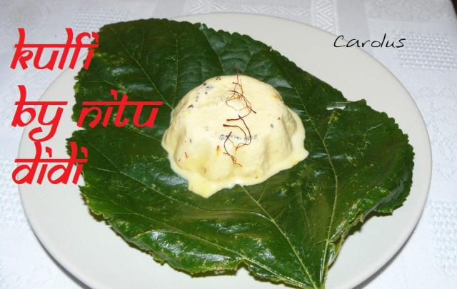 KULFI IN LEAF