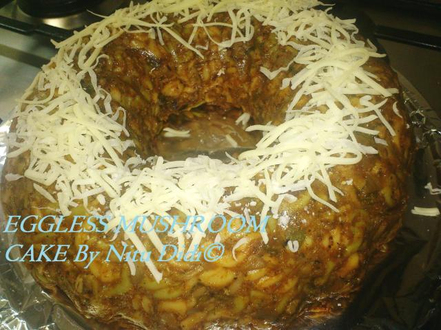 MUSHROOM CAKE NITU