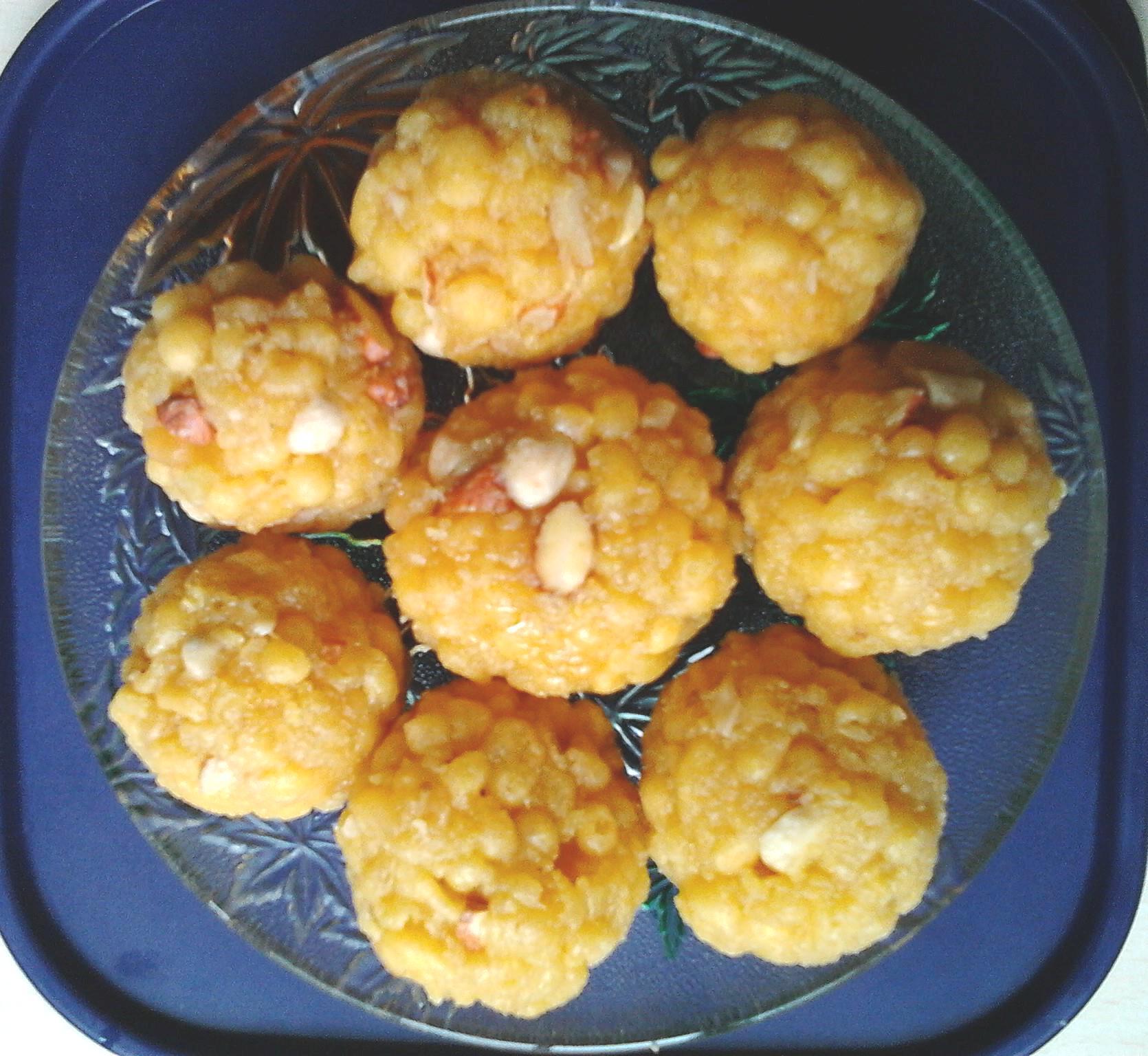Boondi ladoo indian sweets nitu didi this recipe forumfinder Choice Image