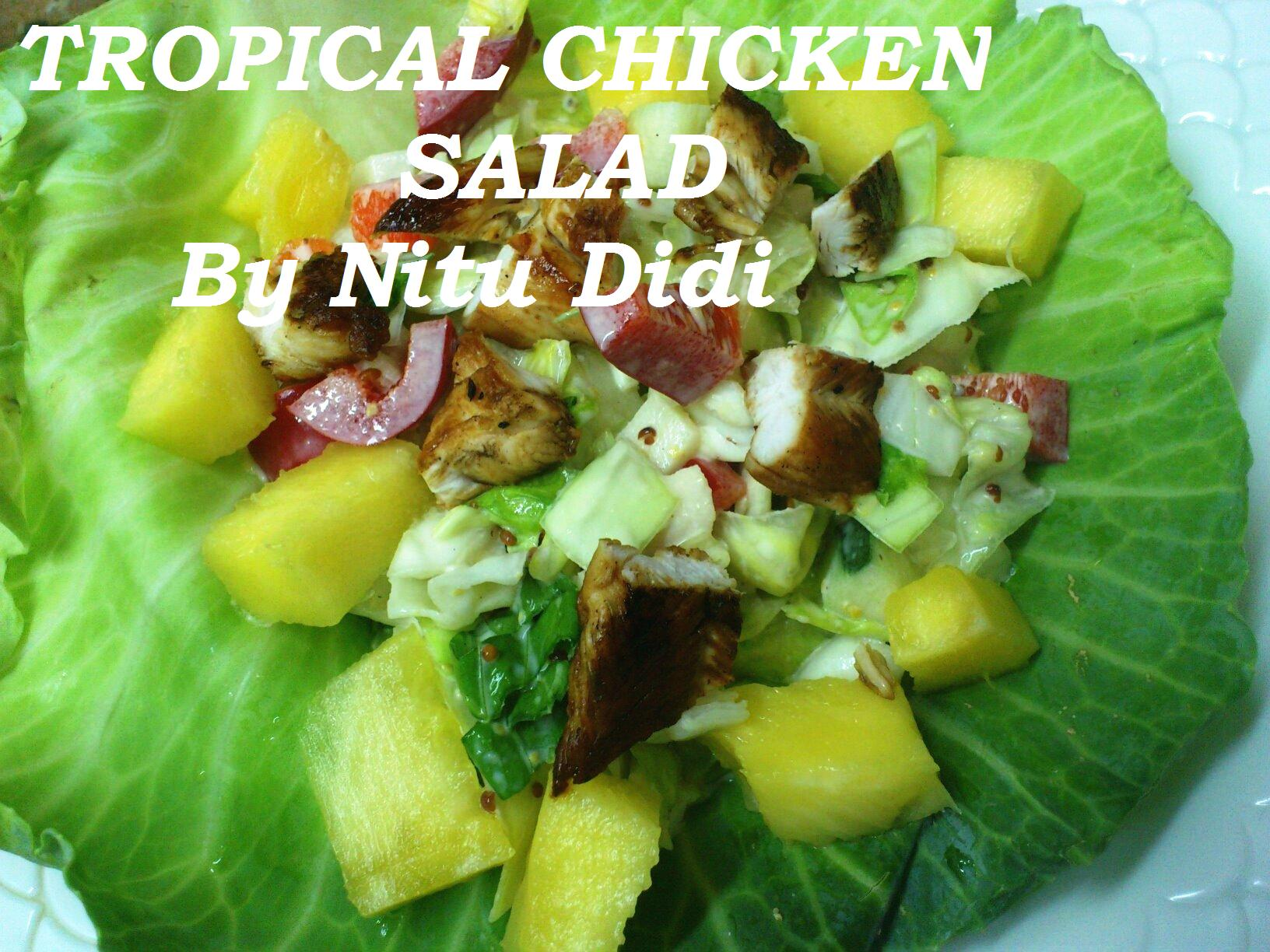 Tropical Chopped Salad Recipes — Dishmaps