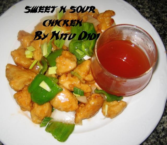 how to make sweet n sour chicken