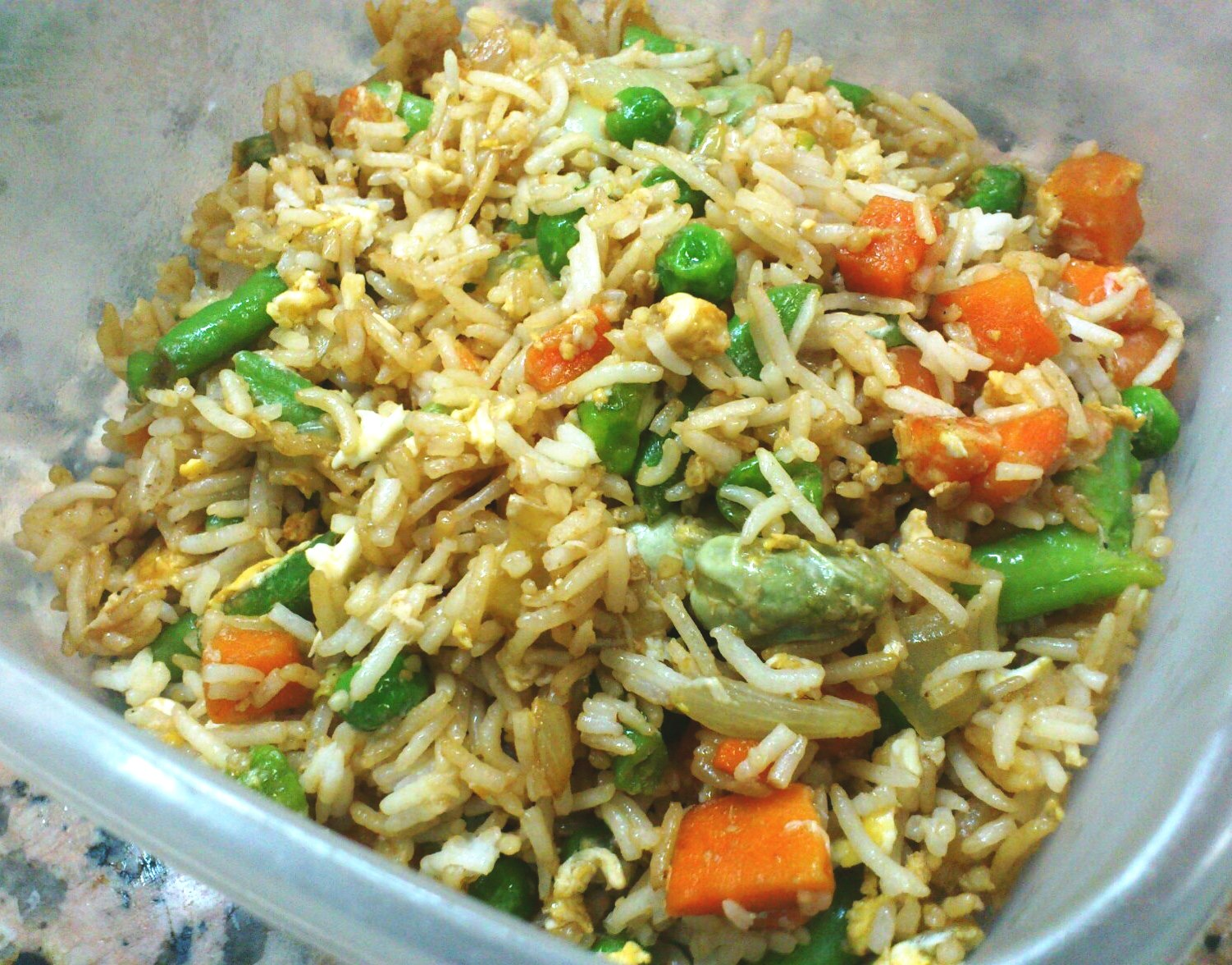 QUICK HEALTHY VEGETABLE FRIED RICE WITH EGG | nitu didi