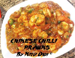 CHINESE CHILLI PRAWNS