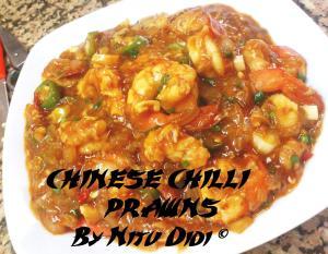 CHINESE CHILLI PRAWNS