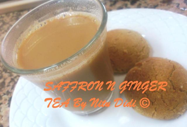 SAFFRON N GINGER TEA