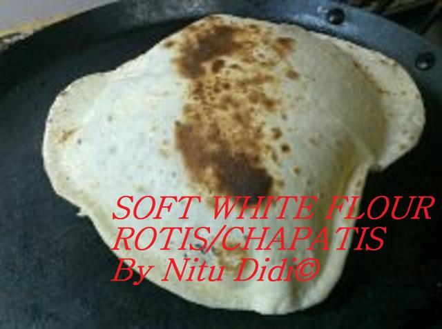 SOFT WHITE FLOUR ROTIS
