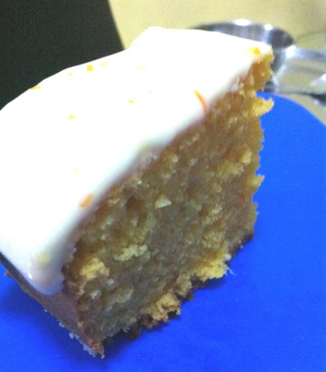 CHEF SHARMA EGGLESS ORANGE CAKE