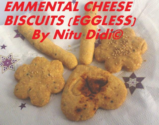 EMMENTAL CHEESE BISCUITS