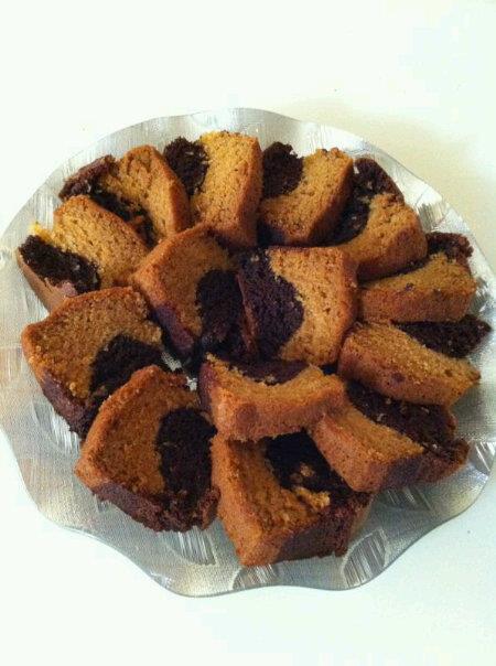 SARITA EGGLESS MARBLE CAKE
