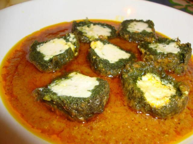SEEMA HUSSAIN SPINACH N CHEESE KOFTAS