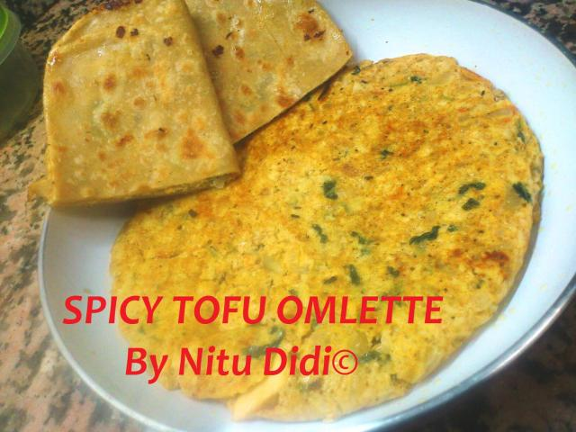 SPICY TOFU OMLETTE