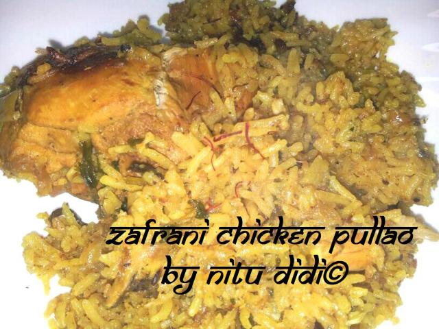 ZAFRANI CHICKEN PULLAO