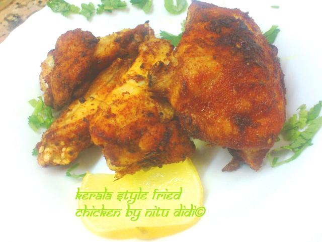 KERALA STYLE FRIED CHICKEN