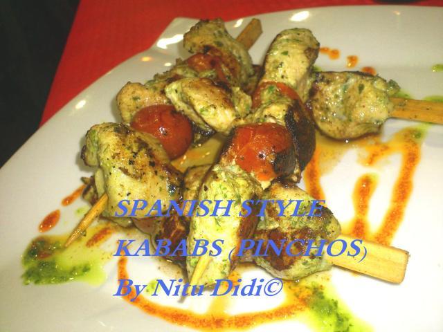 SPANISH STYLE KABAB (PINCHOS)