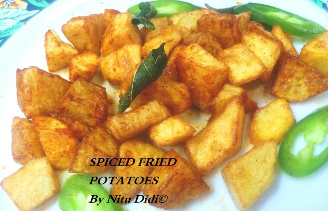 SPICY FRIED POTATOES