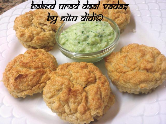 BAKED VADAS