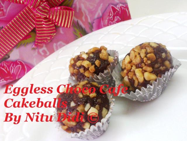 EGGLESS CHOCO CAFE BALLS