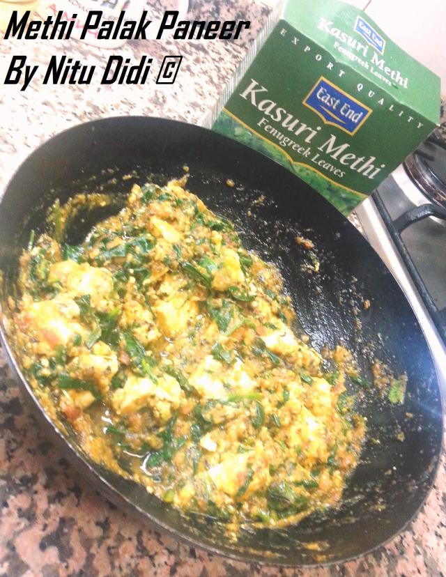 HEALTHY METHI PANEER