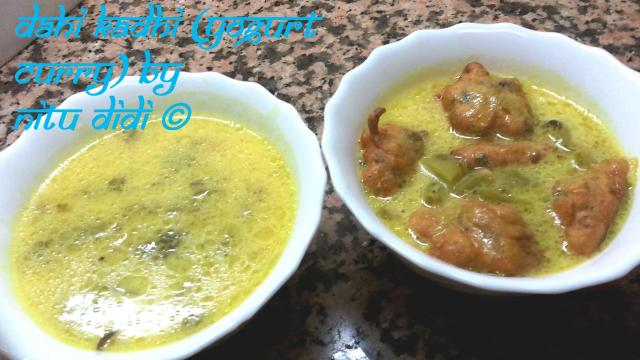 DAHI KADHI (YOGURT CURRY)