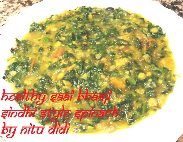 HEALTHY SAI BHAAJI