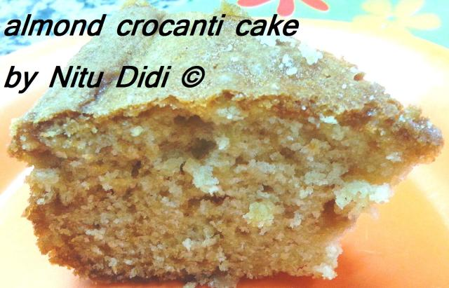 ALMOND CROCANTI CAKE