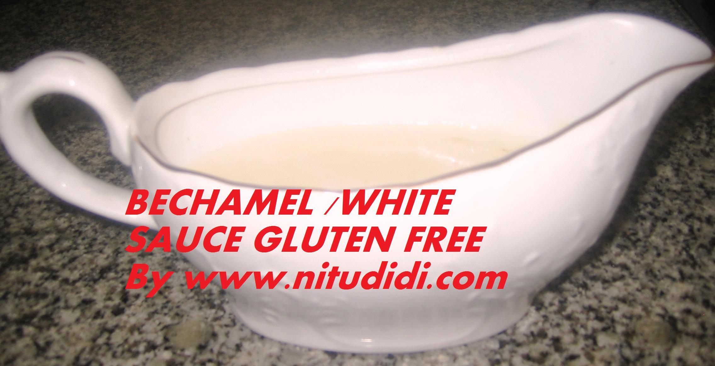 Gluten-Free Bechamel Sauce Recipe — Dishmaps