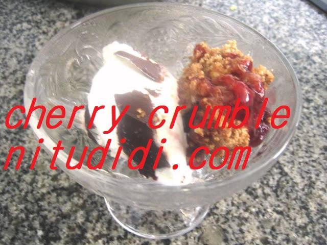 CHERRY CRUMBLE