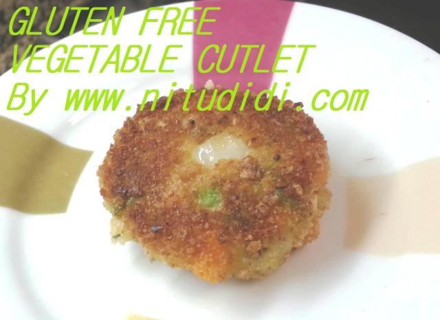 GLUTEN FREE VEGE CUTLET